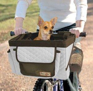 Кошик для перевезення собак на велосипед