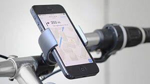 Велосипедний тримач на кермо для телефону і gps
