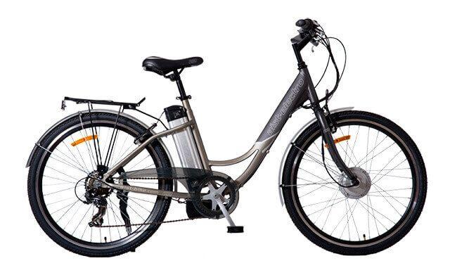 Фото білоруський електровелосипед Лелека