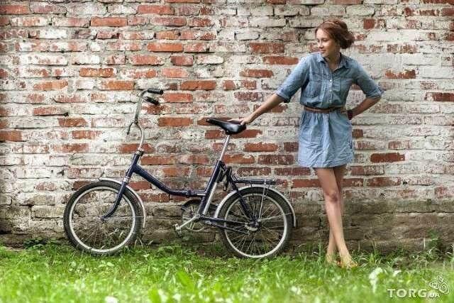 Фото білоруський складаний велосипед Аист