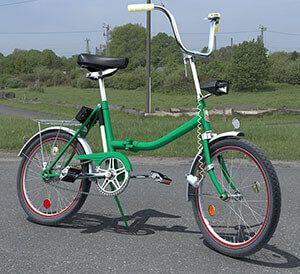 Білоруський складаний велосипед Аист