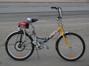 Велосипеди з бензином на моторі, види бензіновиx моторів
