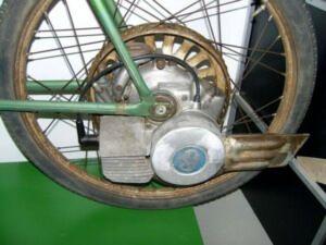 Бензиновий велосипед з веломоторм Весна20