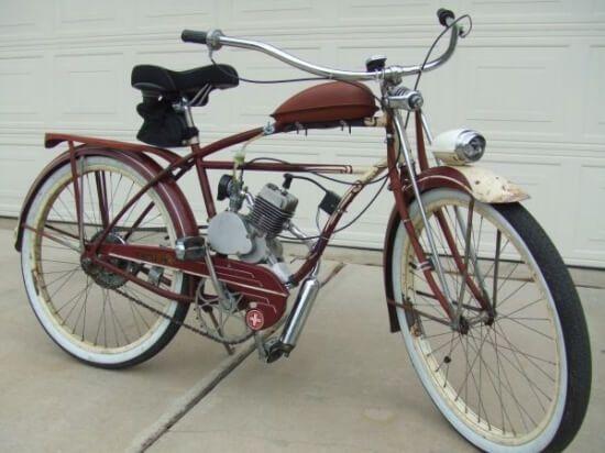 бензиновий велосипед