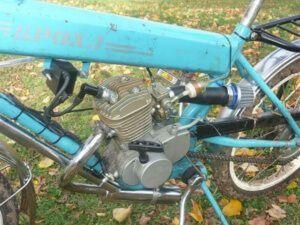 Велосипед з мотором на бензині F80