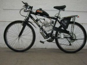 Бензиновий двигун для велосипеда