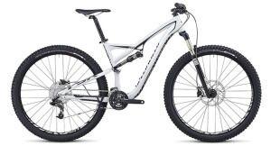 двухподвесний велосипед specialized camber evo 29 з карбонової рамою