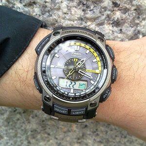 Вибираємо годинник casio з пульсомірів і тиском