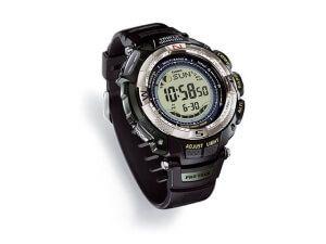 Годинники Casio PRW-1500T з компасом, барометром, термометром і альтиметром