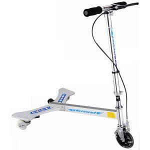 триколісний самокат для дорослих з крилами для ніг powerwing tri scooter