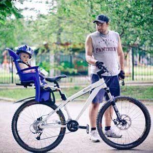 Дитяче велокресло bellelli