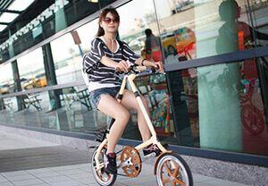 Вибираємо компактний дорослий складаний велосипед