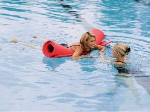 Використання туристичного каремата для плавання