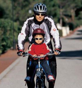 Вибираємо велокресло, дитяче сидіння для велосипеда