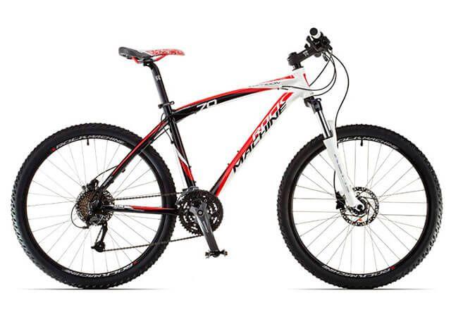 Гірський велосипед Rock Machine Typhoon з гідравлічними гальмами