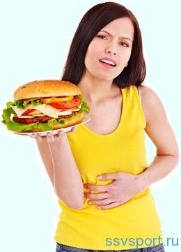 Здуття живота після їжі - причини і лікування