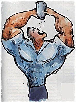Качок і протеїн