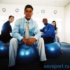 Гімнастика на фітболі
