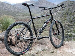 Жіночий велосипед типу ригиден