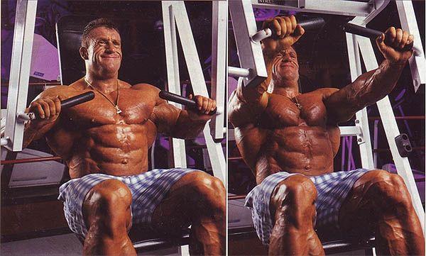 тренажер для тренування грудних м`язів